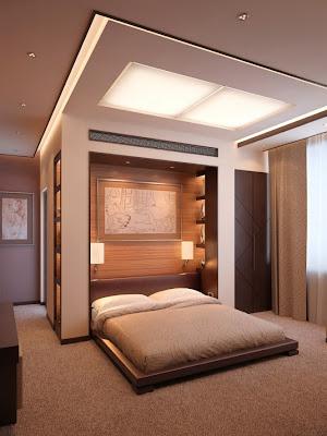 habitación marimonial minimalista