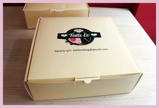 tatlıev kurabiye cupcake kutuları