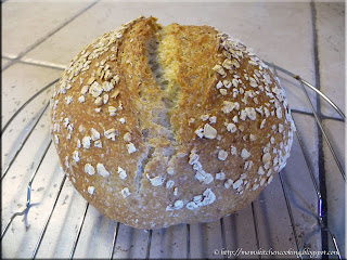 baked part whole wheat bread
