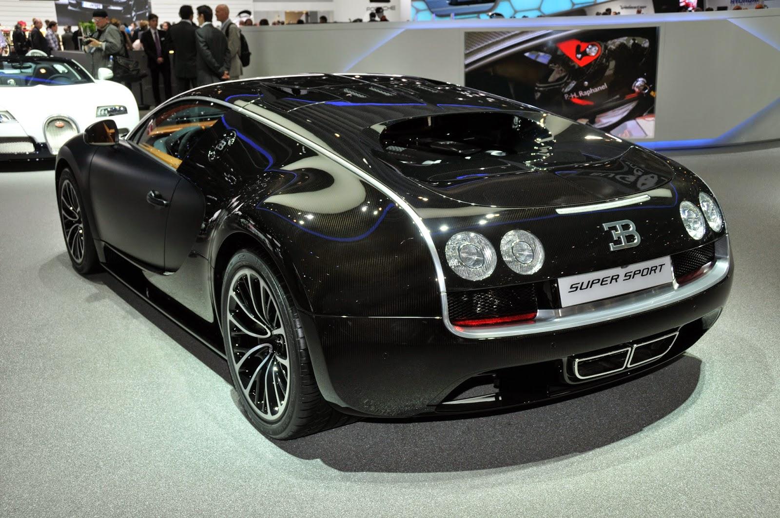 Bugatti Super Veyron Back View Image