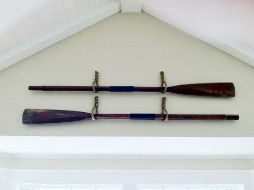 Susan snyder boat oars wall decor
