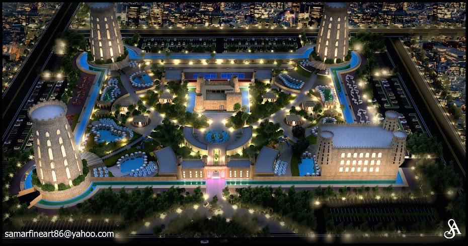 my design of al zubarah resort