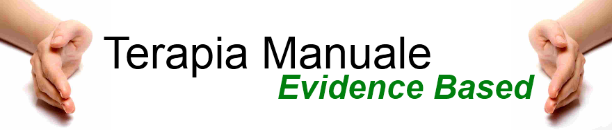 Terapia Manuale Evidence Based