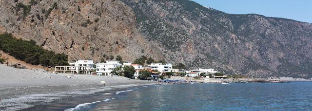Playa nudista Agia Roumelli (Creta, Grecia)