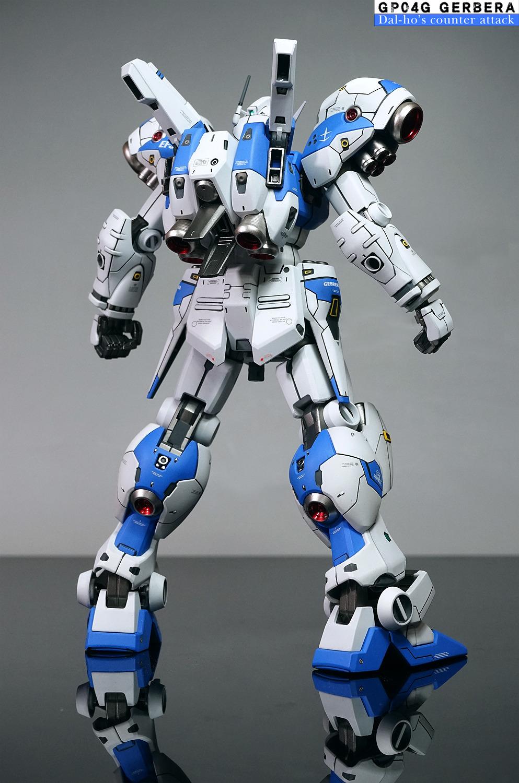 RE/100 Gundam GP04 Gerbera - Customized Build