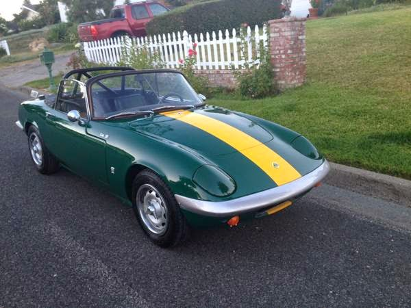 Fully Restored 1966 Lotus Elan S3 Auto Restorationice