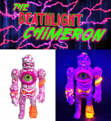 Deathlight Chimeron Resin Figure by Acolorfulmonster
