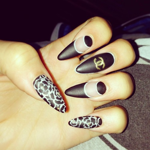 Stiletto Nail Designs 2013 Tumblr Images & Pictures - Becuo