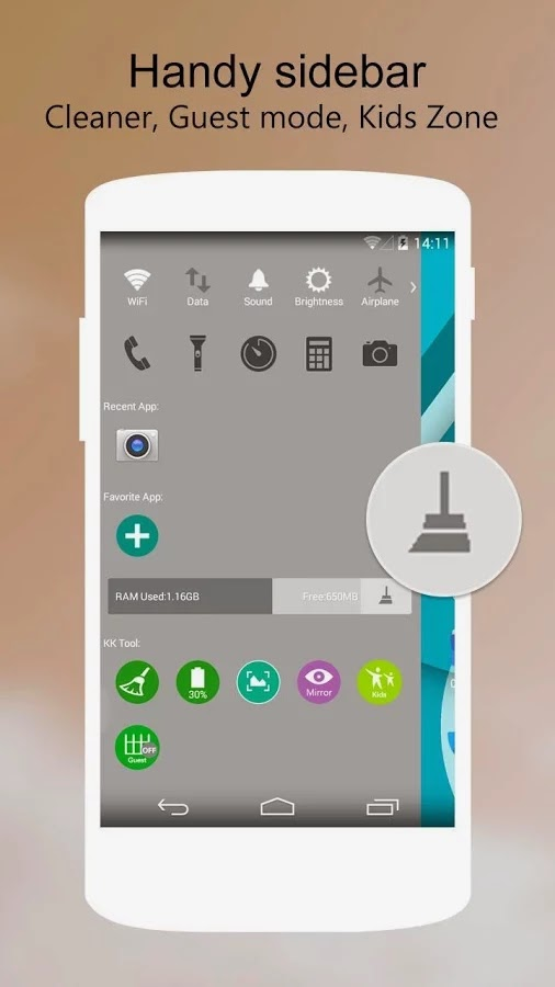 KK Launcher Prime v5.98 Ücretsiz Apk Full İndir