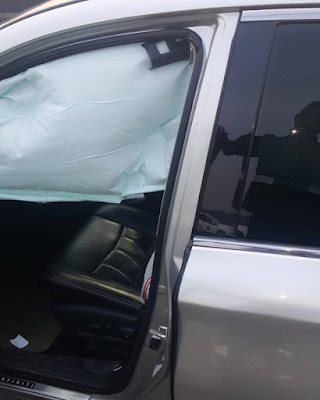 "Singer Solidstar Escapes ""Terrible"" Car Accident (Photo)"