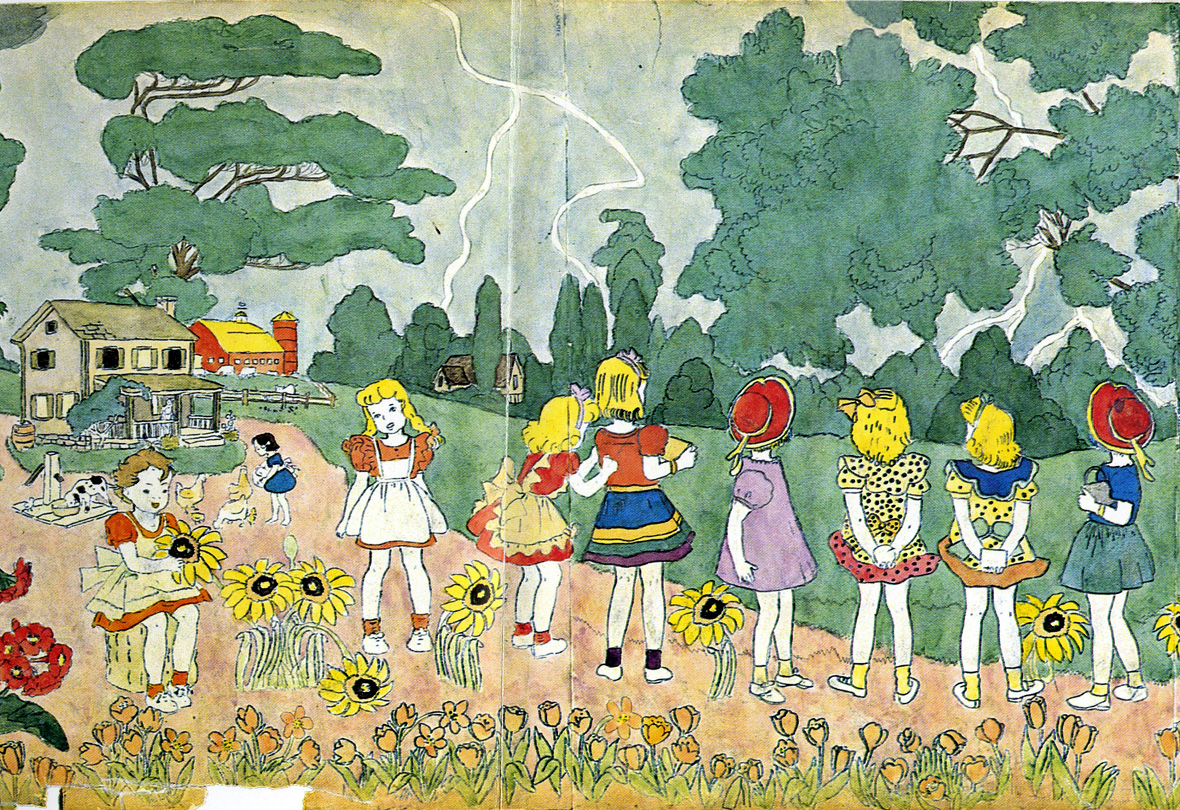 Henry Darger was meek.