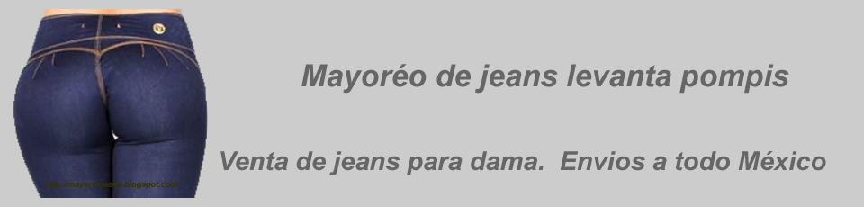 Mayoreo de jeans corte colombiano Levanta pompis