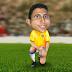 Caricatura do Túlio Ratto, e informações da nossa Seleção Brasileira.