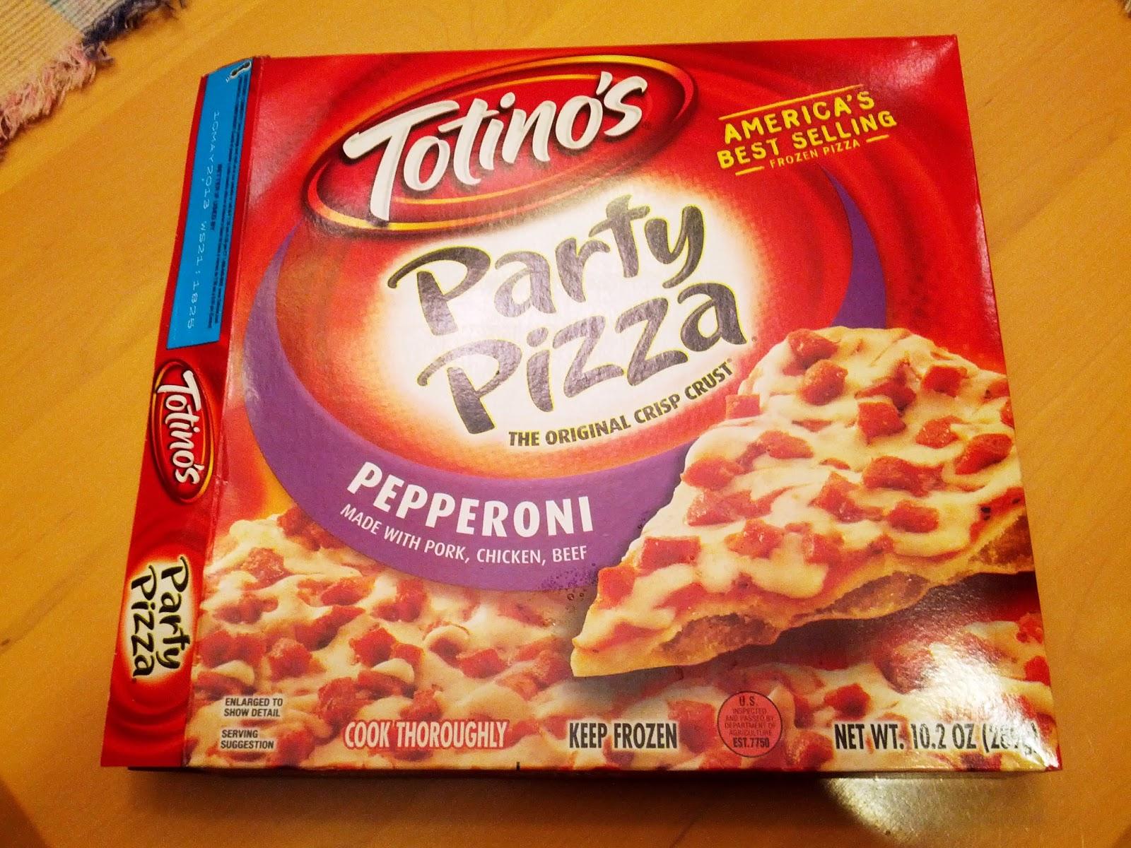 Pizza Quixote: Review: Totino's Party Pizza (Frozen Pepperoni)