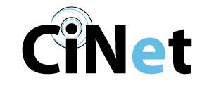 Cinet Logo: Created by Chihiro Okamoto