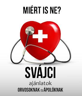Svájci orvosi és nővéri állások