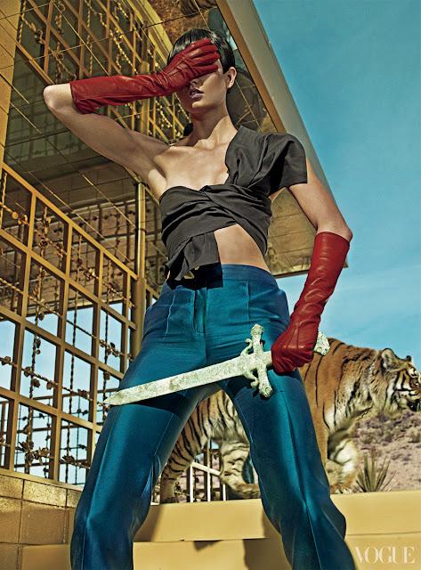 Karlie Kloss by Steven Klein US Vogue March 2013