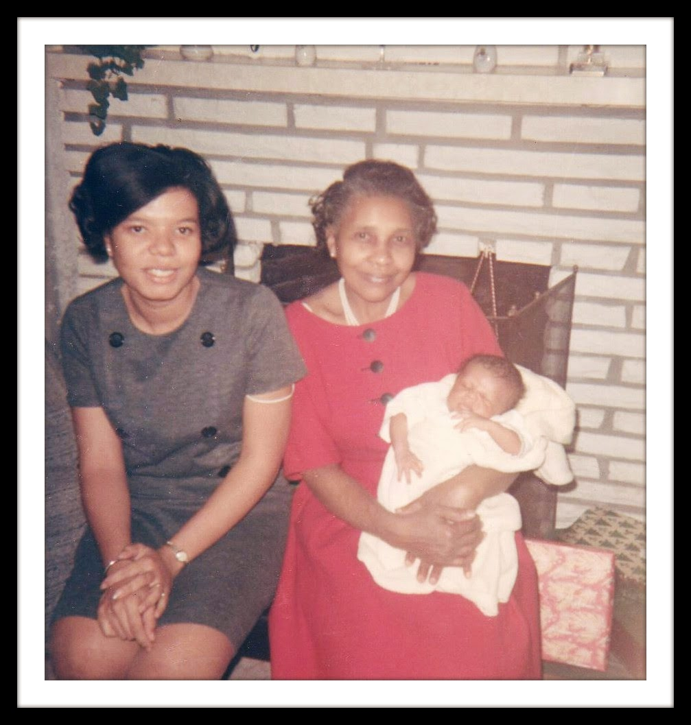 Wordless Wednesday:  Mom, Grandma, and David --December 1966  How Did I Get Here? My Amazing Genealogy Journey