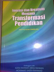 Buku `Inovasi dan Kreativiti Menjana Transformasi Pendidikan'