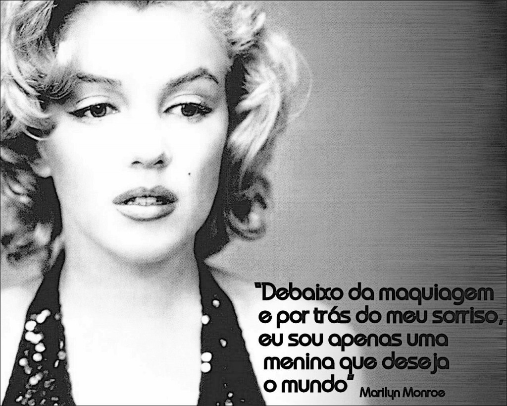 Girl Power 10 Frases De Reflexão De Marilyn Monroe