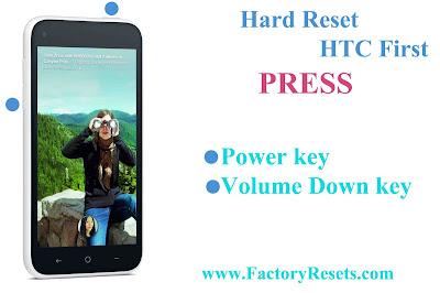 Hard Reset HTC First