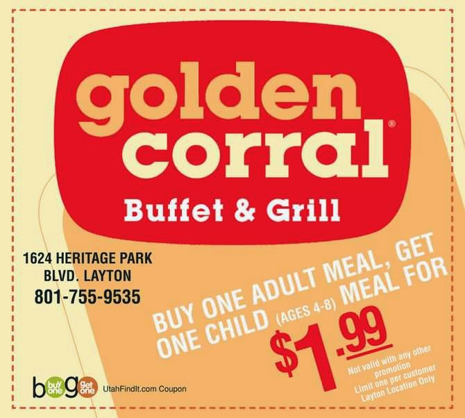 Golden corral coupons printable september 2018