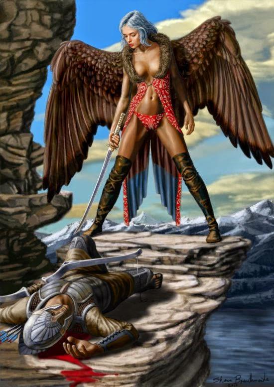 Shane Braithwaite deviantart ilustrações fantasia ficção