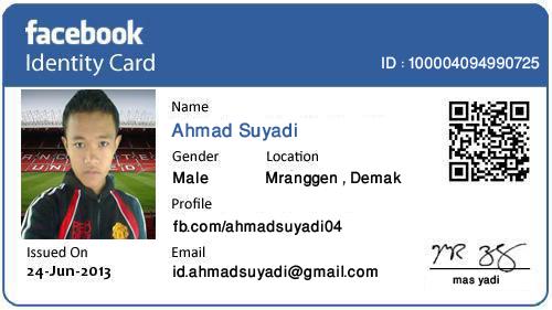 ID Facebook Ahmad Suyadi