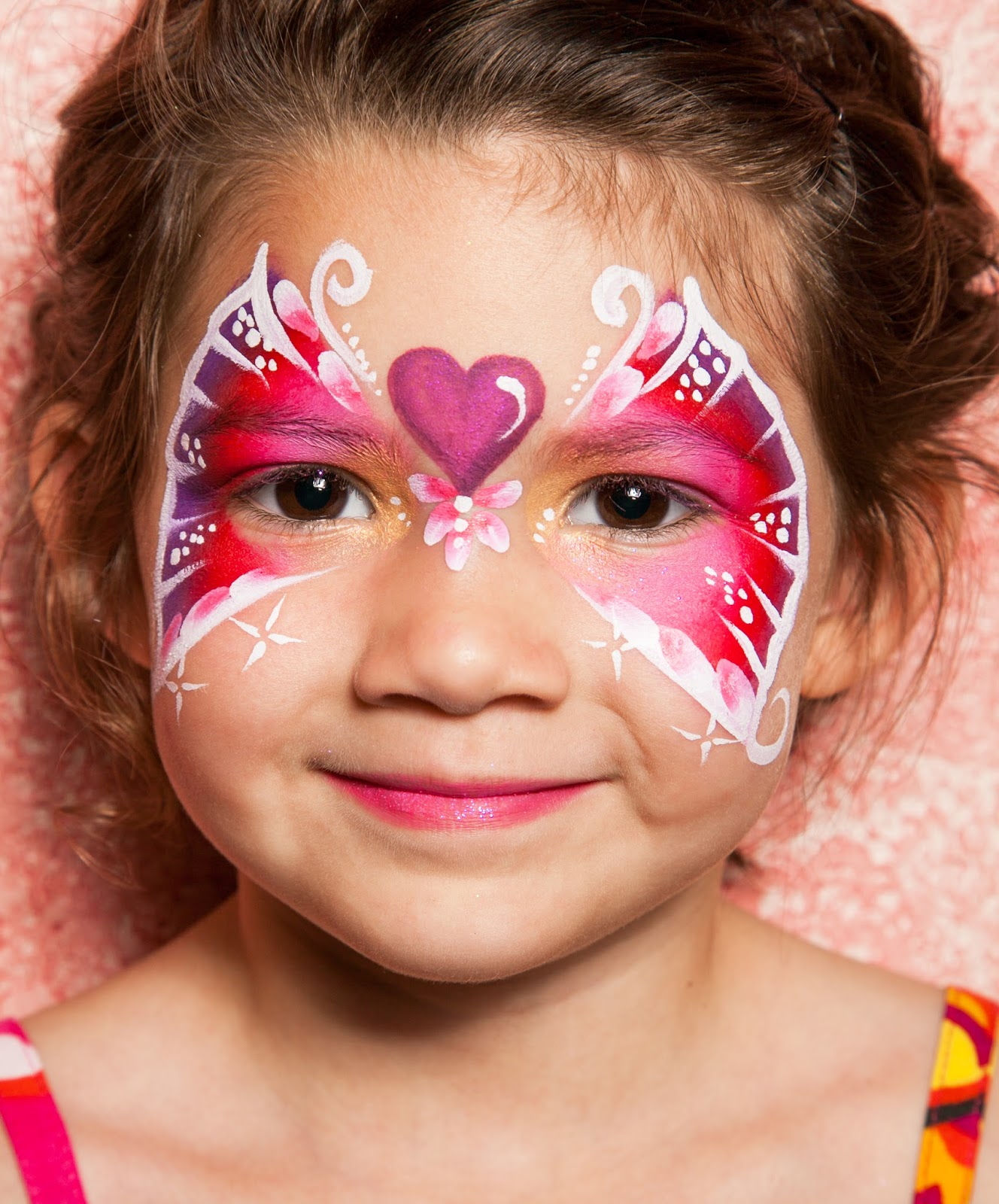 Confetti parties face painting for Face painting for parties