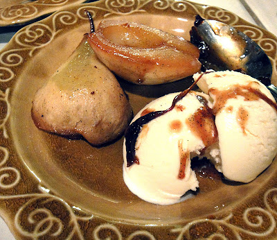 Recipe: Vanilla roasted pears