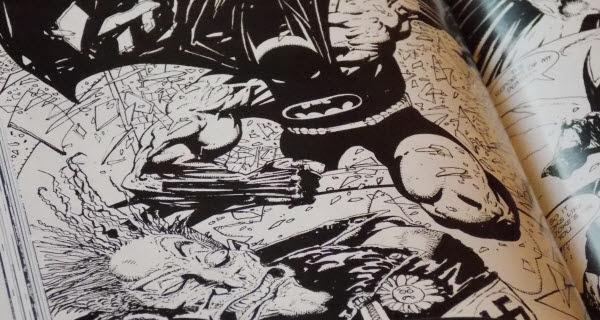 Batman Black and White artwork