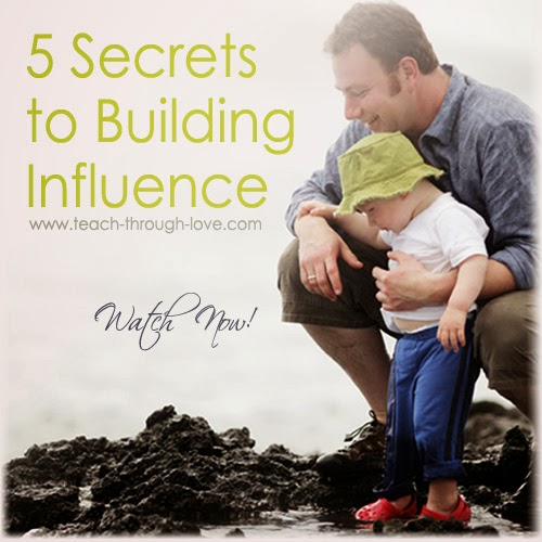 http://www.teach-through-love.com/five-secrets-to-building-influence.html
