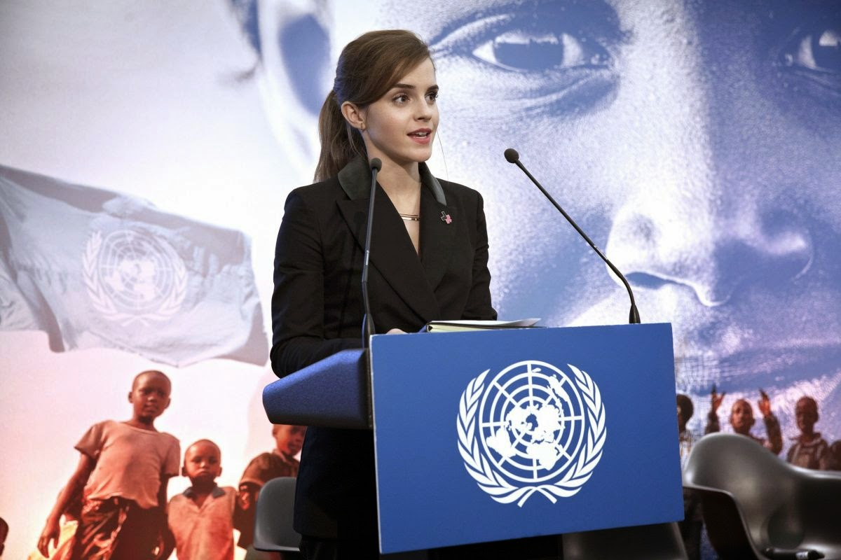 Actress, Model, Activist: Emma Watson At World Economic Forum In Davos