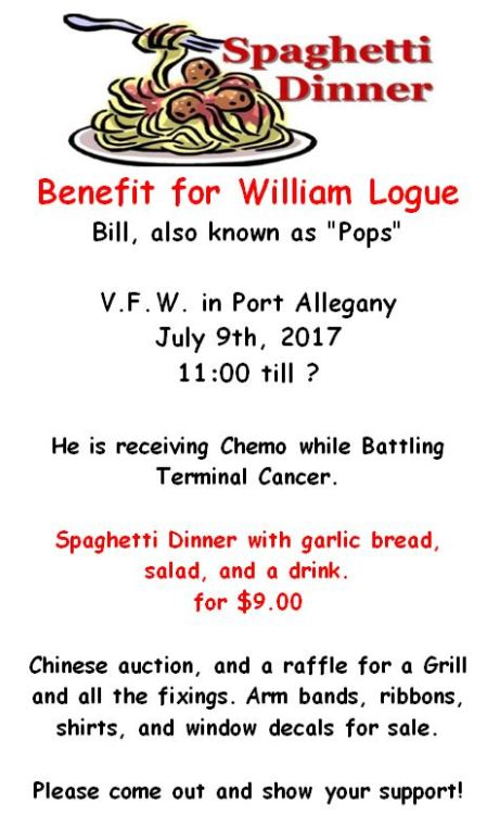 7-9 Spaghetti Benefit