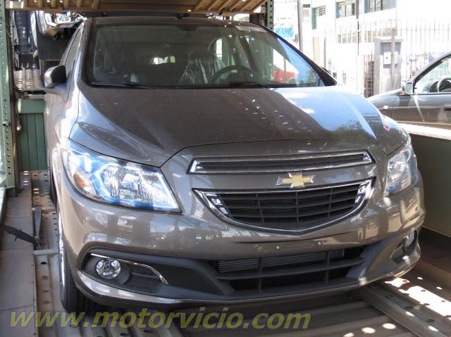 Novo Chevrolet Prisma 2014 (Onix Sedan) - Frente