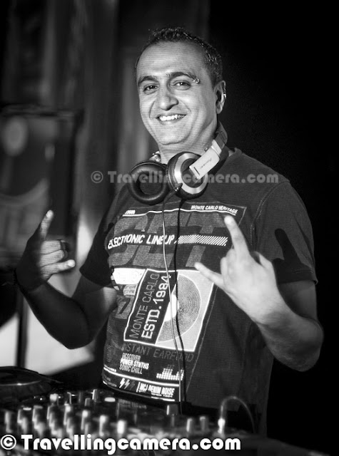 As a Photographer and a Blogger, I get to meet various people in Capital City of India and this time it was a Musical meet at Blue Frog in Mehrauli. I was there for attending basic DJ Training by India's one of the most popular DJs - DJ MASH.. Let's check out this Photo Journey and know more about this experience and some details about DJing...As I entered into Blue Frog at Mehrauli, these were the most vibrant colors all around. Everyone out there was talking about music and how they prefer to listen what kind of music... It was time when DJ MASH had not yet come..After few minutes of wait, the workshop started. DJ MASH asked each of the participants about their taste of music and a basic introduction. He also shared about himself and there was one thing that liked the most - Engineer by Qualification and DJ by profession :Everyone was very excited about interacting with DJ MASH. He was quite humble while he was telling us basics about DJing techniques using two CD players and a mixer... Telling us about sound modulation, finding different nodes etc... After each sessions, all of us tried our hands on DJ Mixer.. Manish Mendiratta aka DJ MASH was born and brought up in Delhi (India). Naturally inclined towards electronic music, the first visit to Goa in 1995 changed everything for him. Mash took Dj'ing as his career in 1997. Travelling had always been his keen interest of MASH. His passion for music and his unique mixing style took him to different places around the globe. Mash soon became a familiar name in the industry when he started playing in some of the top most clubs in Delhi, Mumbai, Goa, Chandigarh, Jaipur, Agra, Calcutta and Chennai. He was involved in revolutionizing the dance music culture in Delhi.Addictive and Intoxicating is what people say when M.A.S.H is on the decks... DJ MASH and his ability to channelize his musical energy into untainted enthusiasm on the dance floor leaves his crowd always wanting more of him. His ardor for mixing and continuous trialing with sounds gives his listeners a new surprise every time he puts his headphones on! M.A.S.H's Dj sets are sure to set the journey mood and his style can be described as ranging from progressive to techno. DJ M.A.S.H although belongs to India, but has performed in various international platforms. He has now been playing for over a decade now and also holding the title of India's no1 Dj after winning the ULTIMATE DJ CHAMPIONSHIP by Submerge and MTV for the year 2010 – 11During our interaction he shared some tips about practicing Music mixing at home and how to create your setup with cheap options available around us. Also discussed about softwares which are best in picking up fast on Music Mixing..MASH experimented with various genres of music and soon realized it's the progressive house/trance and the psytrance that influences his mind, body and soul. Soon then 'The Underground Gravity' was born and MASH was organizing electronic music parties in and around Delhi. DJ Mash was also one of the in-house DJ for MTV's longest dance party in 1999 that made it to the Guineas Book of World RecordsHe has done Audio Engineering from SAE, Sydney in 2002 and Mash took a step ahead into music production. Soon he became a popular face in the Sydney dance culture playing at most of the progressive and trance events throughout Australia. His excellent Dj'in skills took him to play at some of the major clubs and outdoor festivals in Melbourne and the Earth dance festival of peace in New Caledonia. Mash took a leap into events organization in 2004. He organized many electronic music events in NSW (Australia), both indoors and outdoors, that showcased some of the excellent artists and dj's from round the globe. Mash is certainly one of the finest dj's / live act to come out of India and spread the Indian vibe internationally. His impeccable mixing, unique mixing style and his ability to understand the crowd has made him a popular name in global electronic music scene. This has also gained him a platform to play along with some of the finest international artists / dj's To know more about DJ MASH, Check out - http://www.fbardelhi.com/dj/dj_detail/31