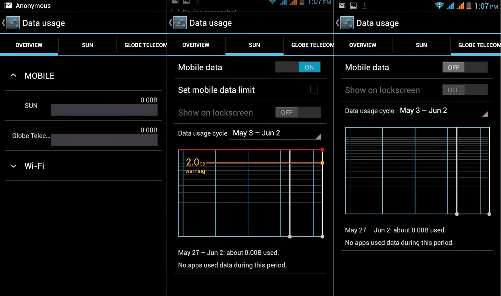 Kata Digital M1 Review, Colossal Inside and Out Data Usage
