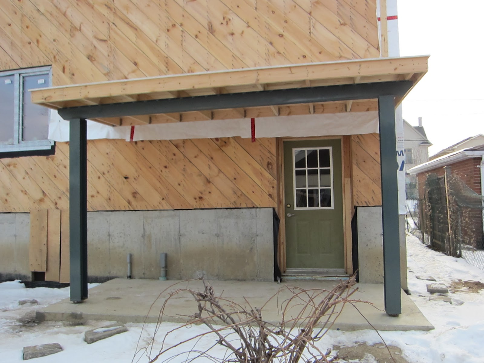 passive house toronto stainless steel exterior post anchors