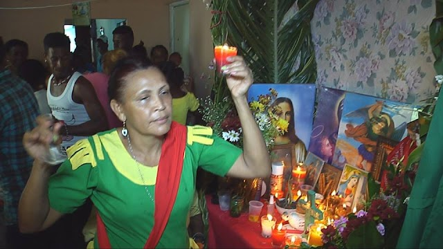 Curandera de San Juan, le rinde tributo a San Miguel-ver Video