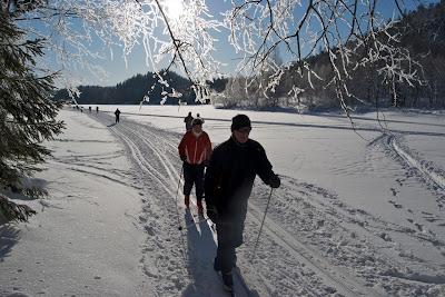 En Oslo son muy aficionados a la naturaleza y el esquí