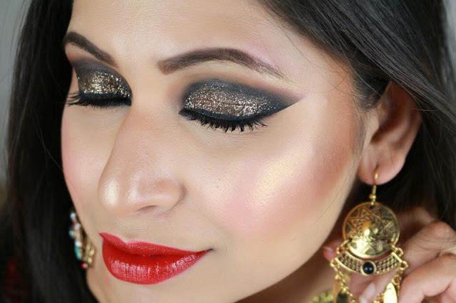 Glamorous Eid Makeup Tutorial 2015