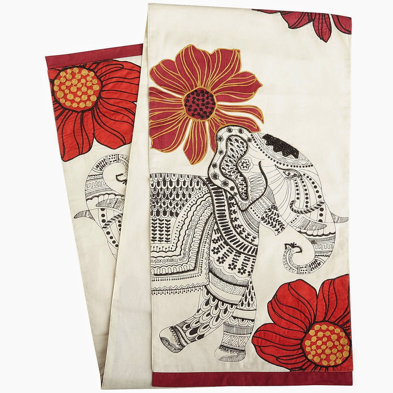 Wish List Wednesdays: Pier 1 Elephant Parade Table Linens