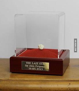 Última pastilha Sir Alex Ferguson