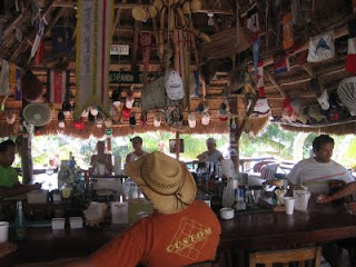 Soggy Peso bar and restaurant on Isla Mujeres