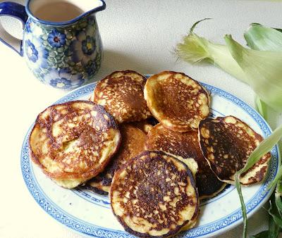 Fresh Corn Pancakes