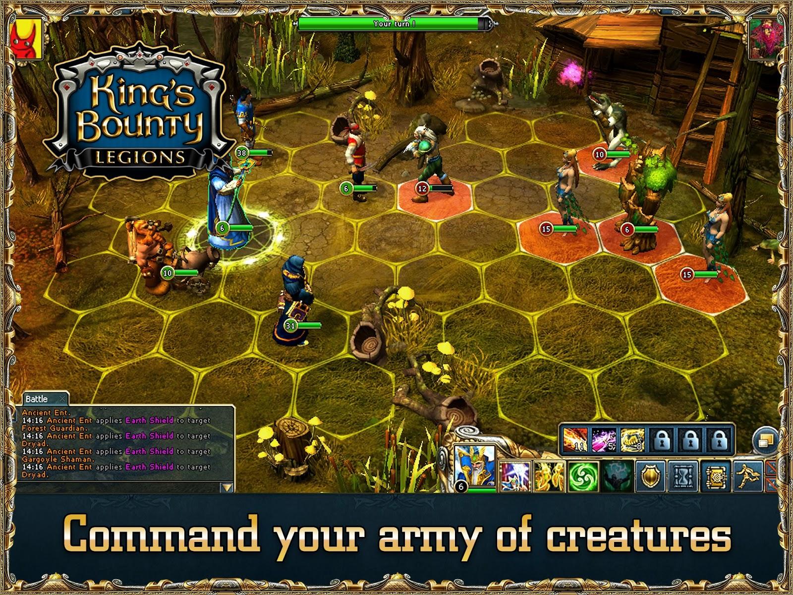 Фото King's Bounty: Legions лучше дополнят впечатление об игре, чем да