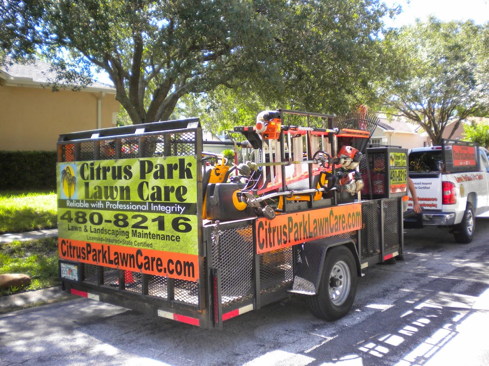 Work truck blogger landscapers choose 1 2 ton pickups for Garden maintenance trailer