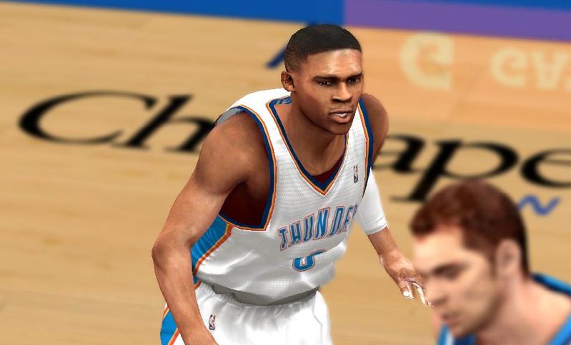 NBA 2K14 Russell Westbrook Cyberface Patch