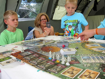 Shadows Over Camelot - Playing whilst camping