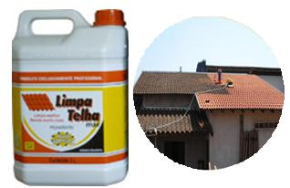 Como limpar telhas de barro